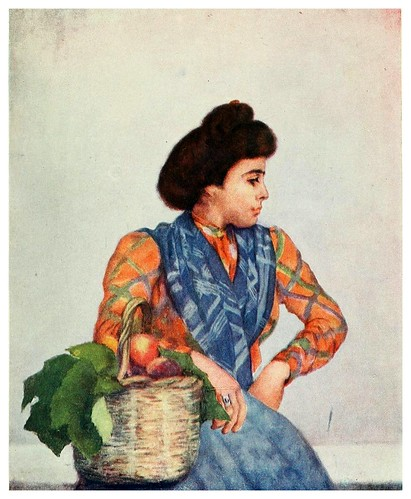 005-Vendedora de frutas-Naples -1904- Augustine Fitzgeral