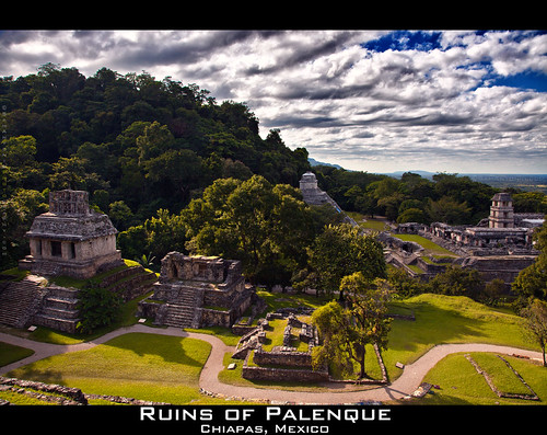 Lost in Social Media and in the Jungle of Palenque by Sam Antonio Photography
