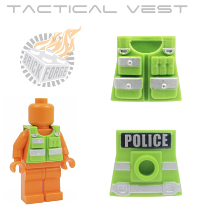 Tactical Vest- Lime Green (UK Metro)
