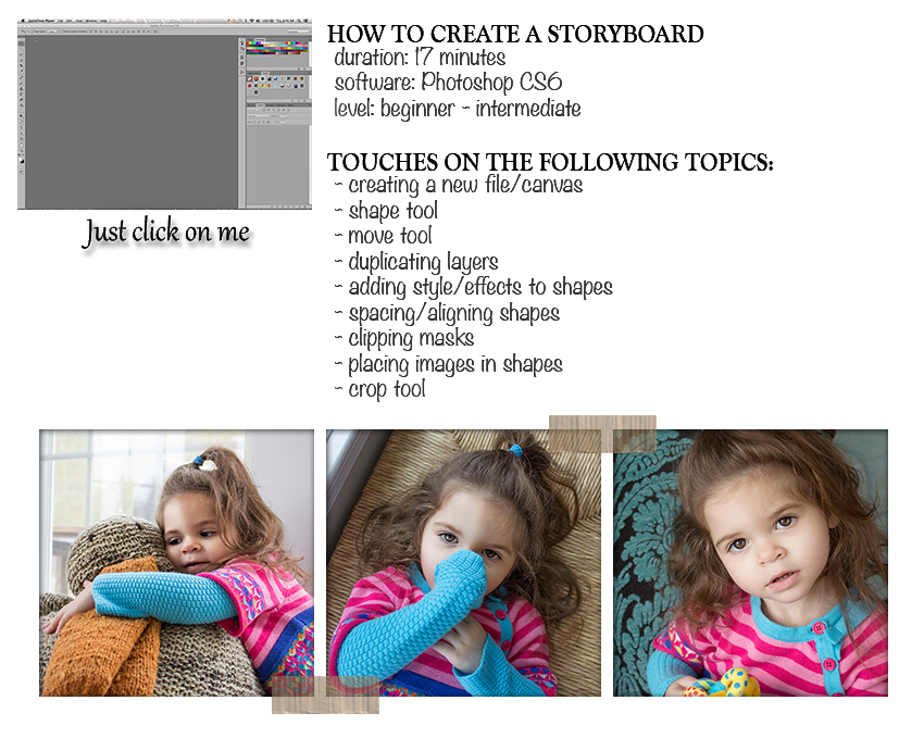 Storyboard tutorial for flickr