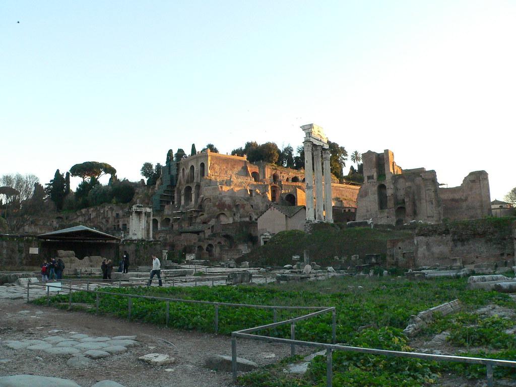 Temple VestaDomus Gemini…Flickr Rome Of Tiberiana And uFTlJc3K1
