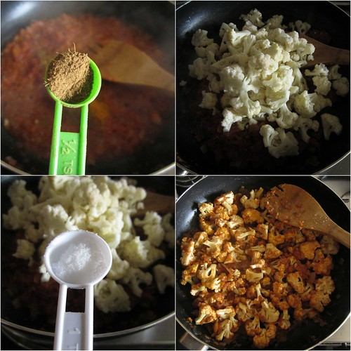 Dry Cauliflower Sabzi{For Roti}-step4