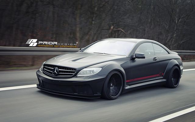 Mercedes benz cl w216fl pd black edition v2 widebody for Mercedes benz cl 240