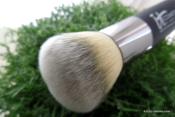 the Heavenly Luxe Brush by IT Cosmetics makeup make up qvc foundation big powder liquid