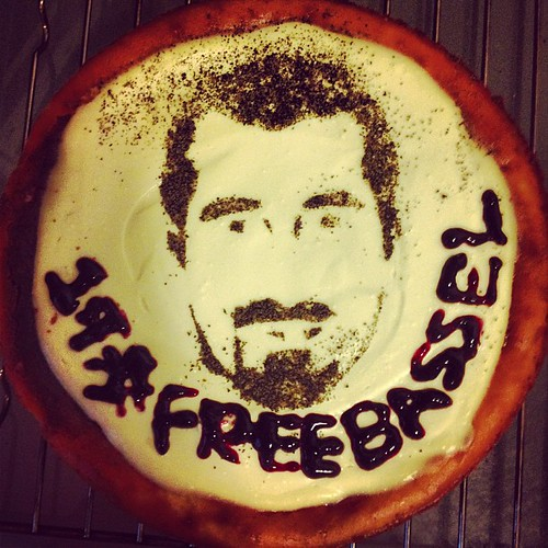 1st #freebassel cheese cake. @freebassel @kidproto