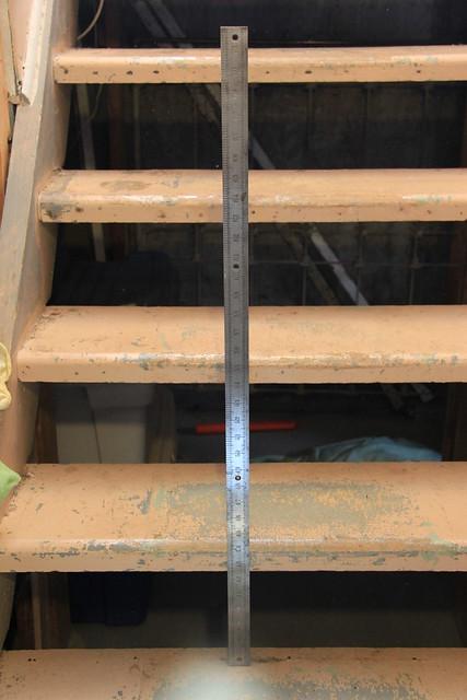 36 inch steel rule