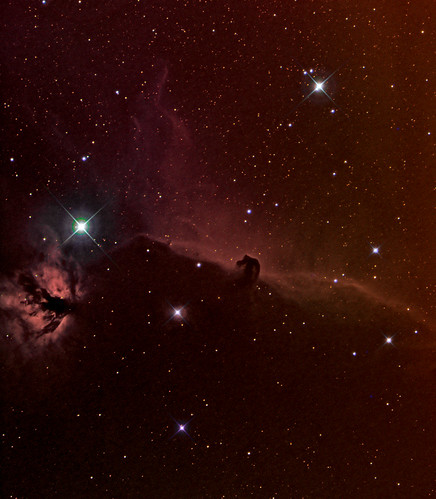 Horsehead Nebula in Orion - 170313 by Mick Hyde