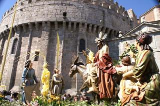 Entrada de Jesús en Jerusalén- (Emilio Iglesias Velasco)