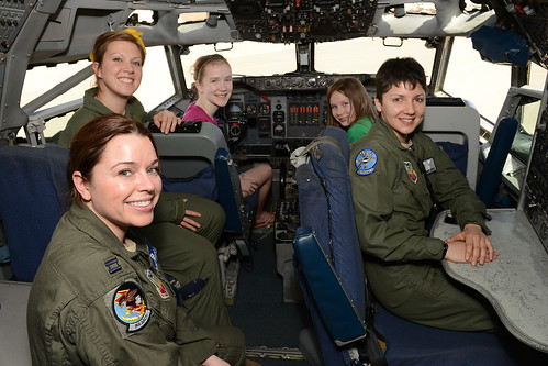 USAF Women in the E3 AWACS