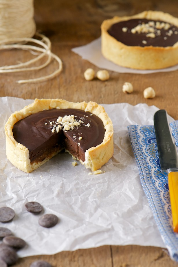 chocolate milk jam tart