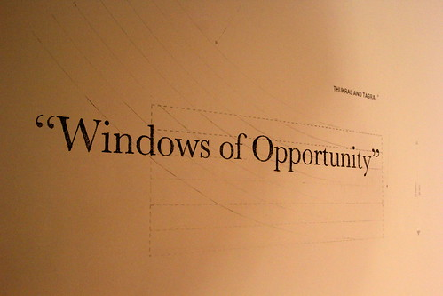 Thukral and Tagra: Windows of Opportunity