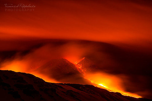Red burning hell - Etna