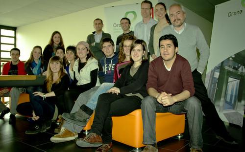 Participantes del Workshop de Diseño Industrial de Orona