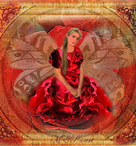 red roses.... Wishing you a magic Spring