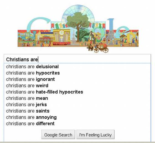 GOOGLE-Christians-are