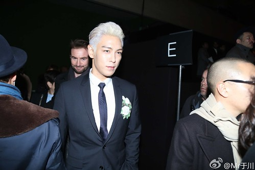 TOP - Dior Homme Fashion Show - 23jan2016 - Mr于川 - 04
