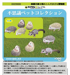 海洋堂《膠囊Q博物館》神奇寵物收集系列!不思議ペットコレクション