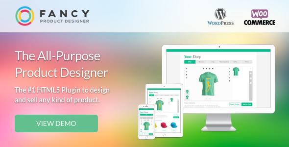 Fancy Product Designer v3.2.2 - WooCommerce plugin