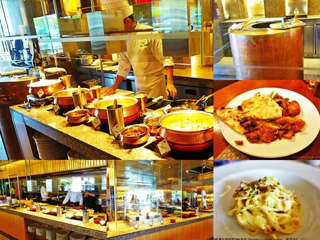 泰國 曼谷香格里拉大飯店 Shangri-La Hotel buffet-1