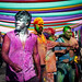The Holi (color-throwing...) Festival Celebrations in Guwahati - Assam, Northeast India