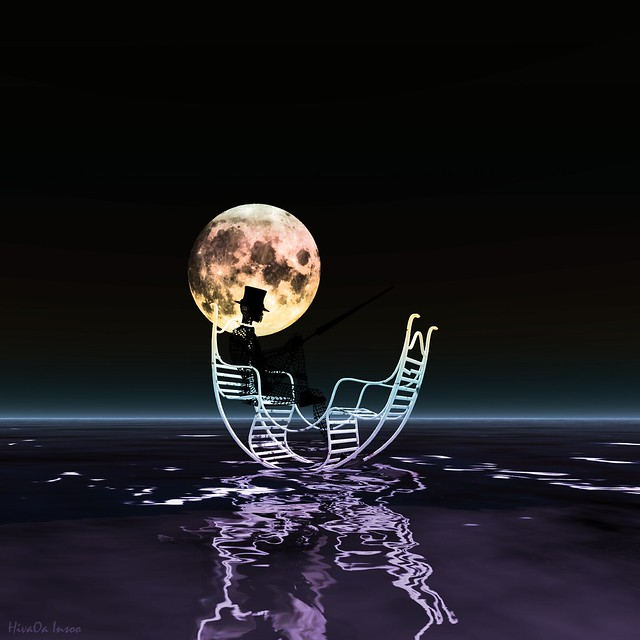 The Moon and the Rocking Chair