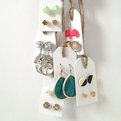 Earring Organizer Tutorial