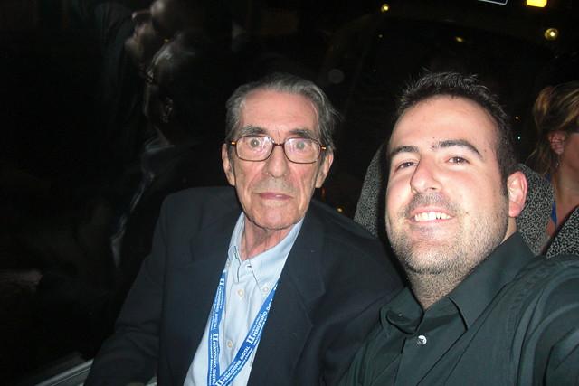 Foto tomada en el Congreso de Periodismo de la APDA en Huelva. Septiembre de 2009.
