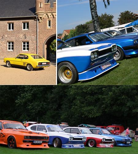 Ford Capri Collage by Bernd Tuchen