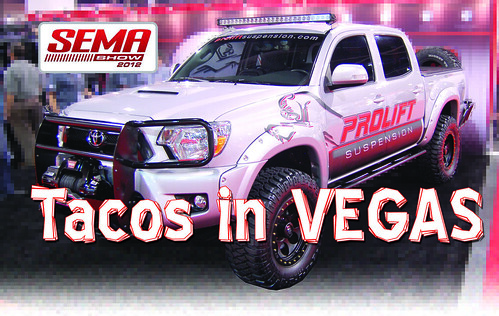 Pro Lift 4x4 Tacoma truck lift kit at SEMA 2012