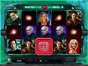 Battlestar Galactica Scatter Feature