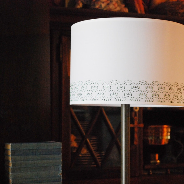 Stitching a Lampshade