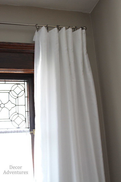 Curtains on Ring Clips