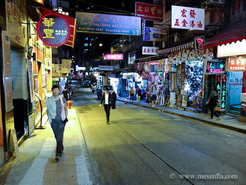 Calles de la vieja Hong Kong