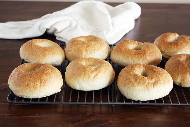 new york deli-style bagels // Girl Versus Dough