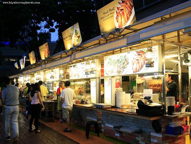 Makansutra Gluttons Bay Marina Bay SIngapore