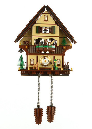 A lego cuckoo clock the brothers brick the brothers brick How to make a cuckoo clock