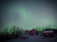 [Free Images] Aurora, Night Sky, Landscape - Norway ID:201301262000