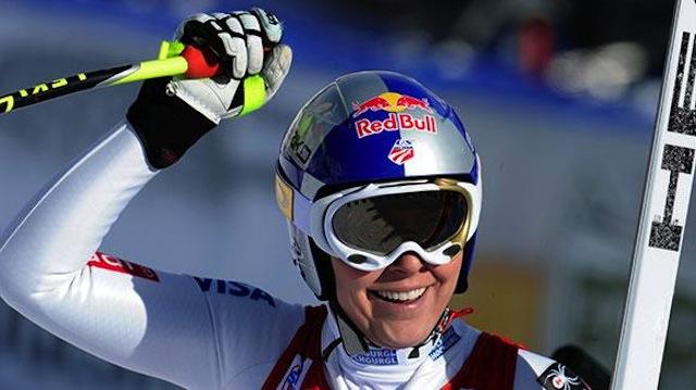 Lindsey Vonn, Cortina