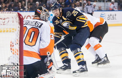 Sabres vs Flyers 1/20/13