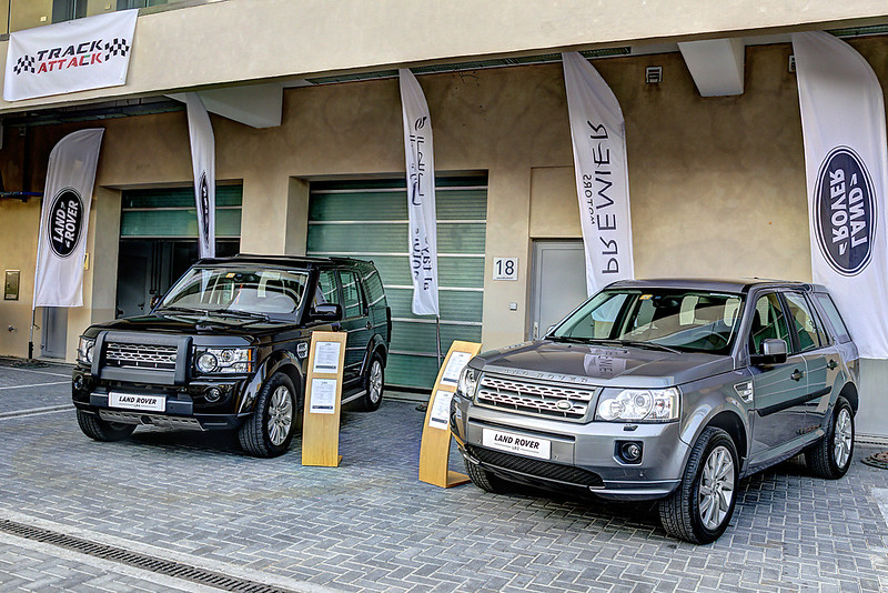 Land Rover at Yas Marina Track Attack