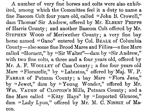 Transactions of the Southern Central Agricultural Society 1852