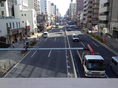 両国橋を渡って京葉道路へ by haruhiko_iyota