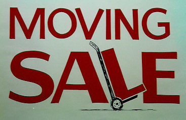 1 moving sale