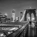 Brooklyn Bridge Couple by mkc609