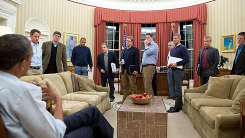 Obama's White Male Cabinet