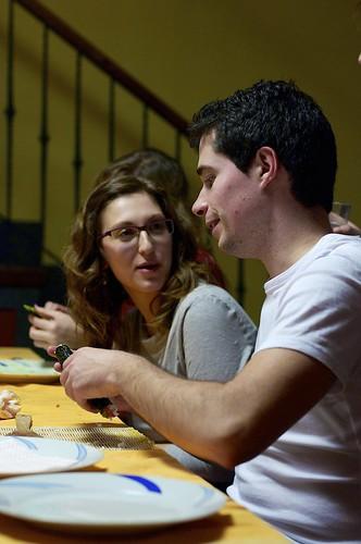 Taller de Sushi - Esther y Javi