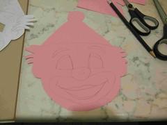 fig 2 maschera da pagliaccio