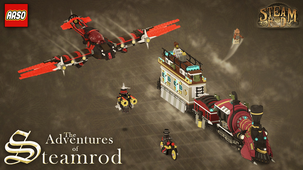 The Adventures of Steamrod!