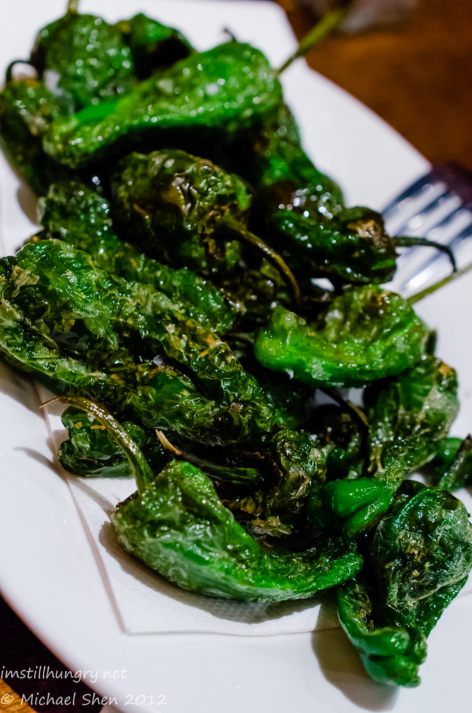 Encasa Pimiento de Padrón - fried Spanish peppers