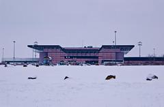 Aéroport Metz - Nancy - Lorraine sous la neige